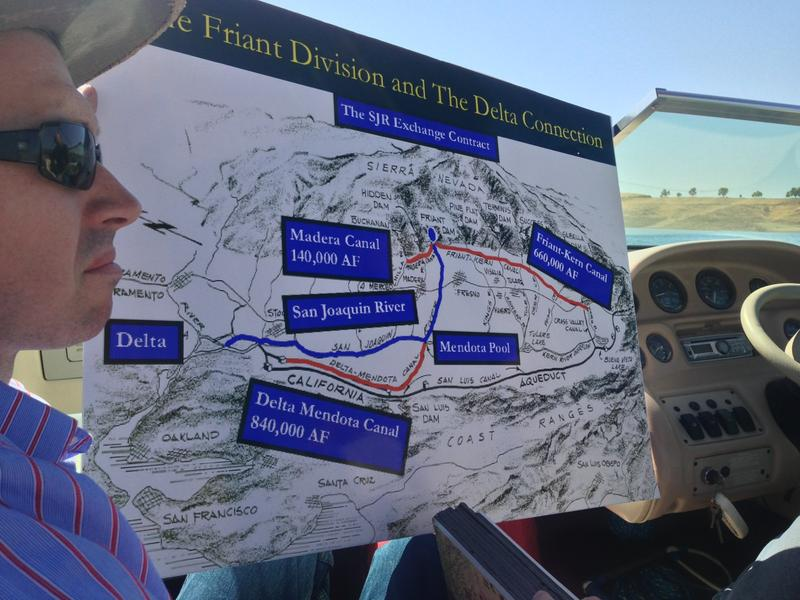 Connecting the San Joaquin to the Friant Kern Canal and the Delta.