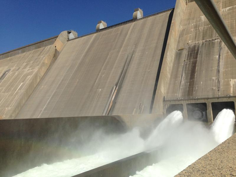 Friant Dam near Fresno could eventually be augmented by a new reservoir at Temperance Flat