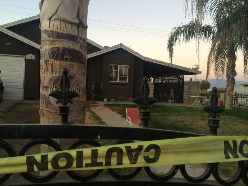Kern County officials discovered dangerous levels of flammable gases near and inside this home on Nelson Court.