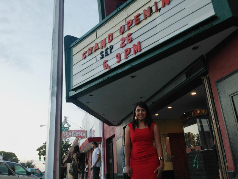 Laura Barboza has dreamed of opening a theater since she was a child.