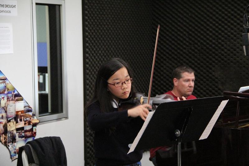 Violinist Emily Okayasu on Young Artists Spotlight