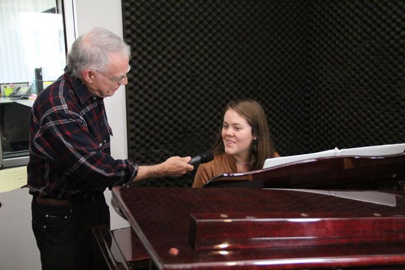 Amanda Hamilton, piano on Young Artists Spotlight