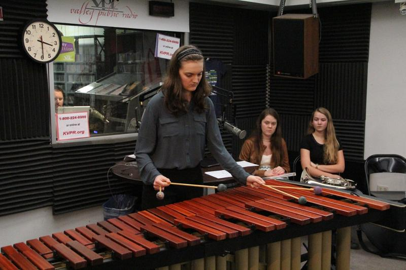 Percussionist Peyton Esraelian on Young Artists Spotlight