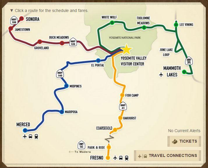 Finally A Public Bus System From Fresno To Yosemite Valley Public