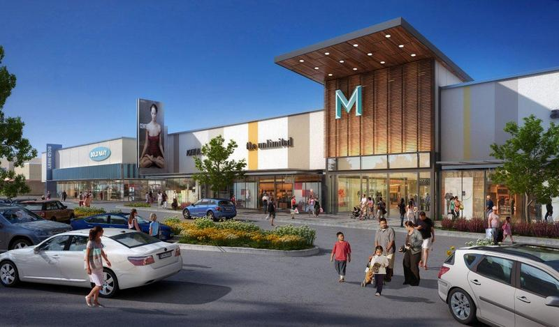 An artist's rendering of proposed mall renovations from thenewmanchester.com