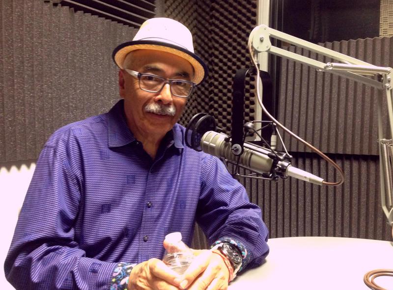 US Poet Laureate Juan Felipe Herrera.