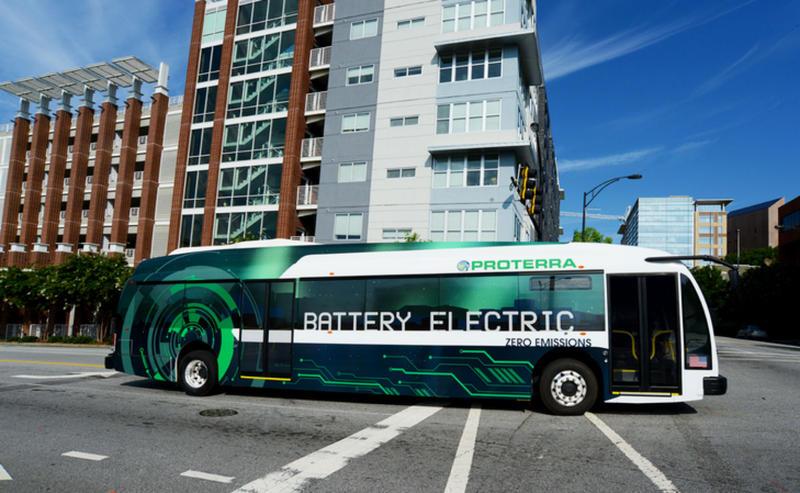 A proterra Bus