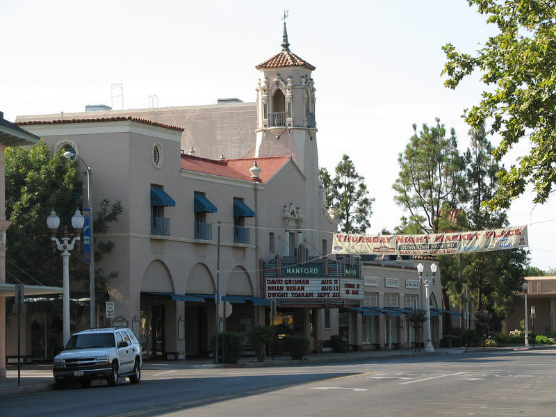 Hanford's Fox Theatre is closed for renovations