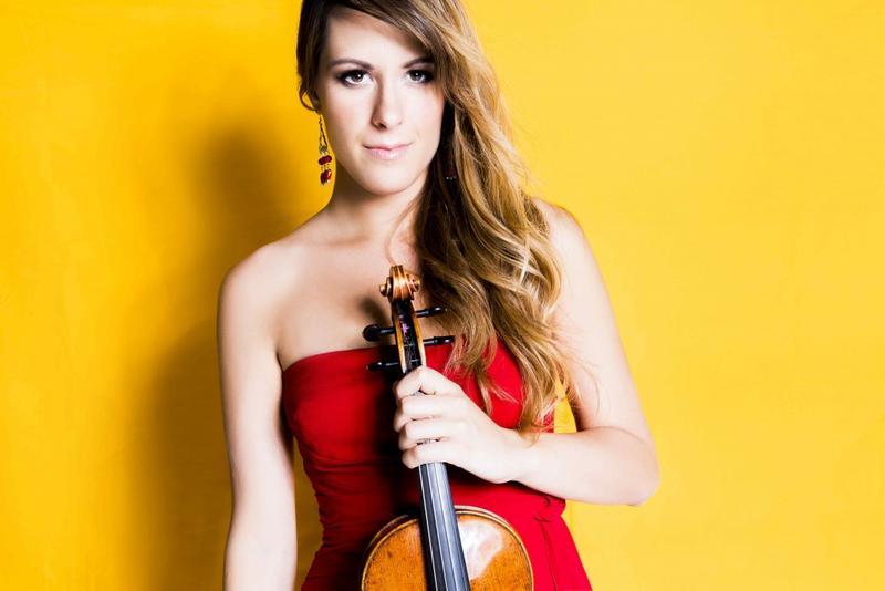 Violinist Francesca Dego