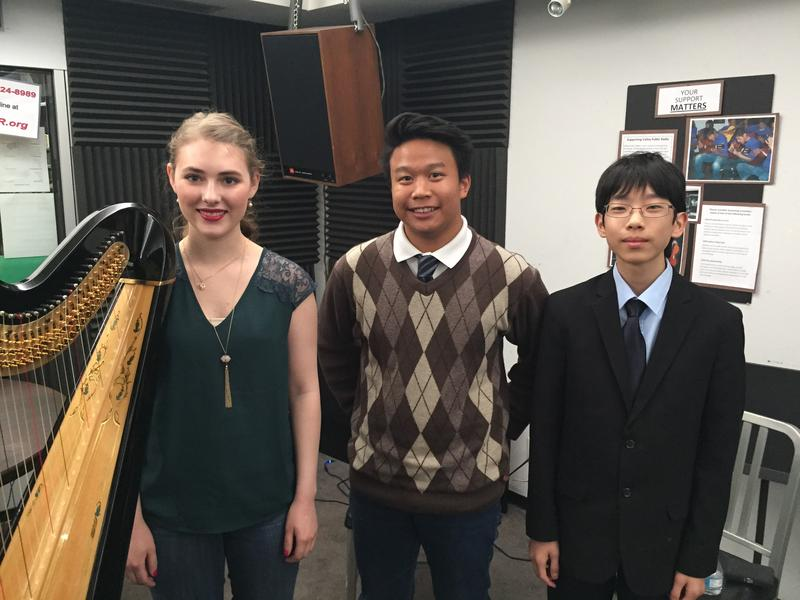 Dana Peck, Johann Palo and Isaac Kim on Young Artists Spotlight