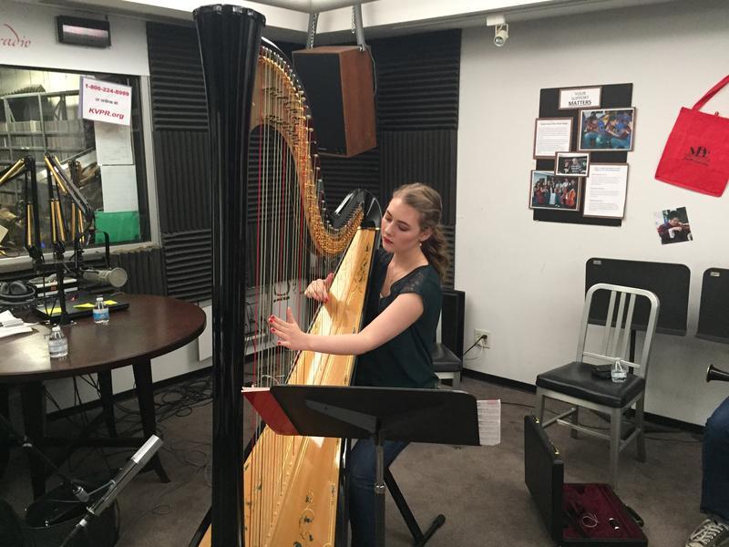 Harpist Dana Peck