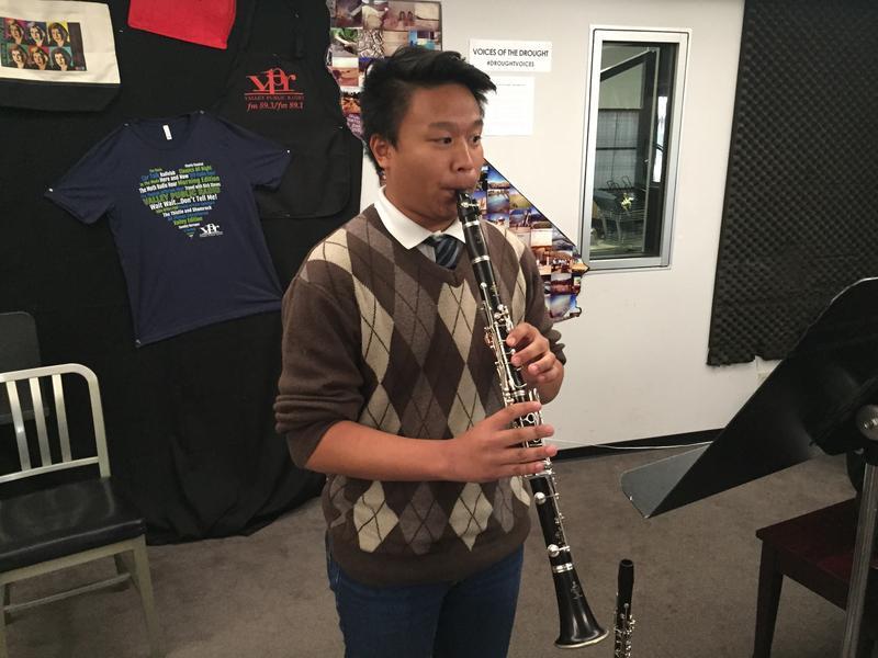Clarinetist Johann Palo