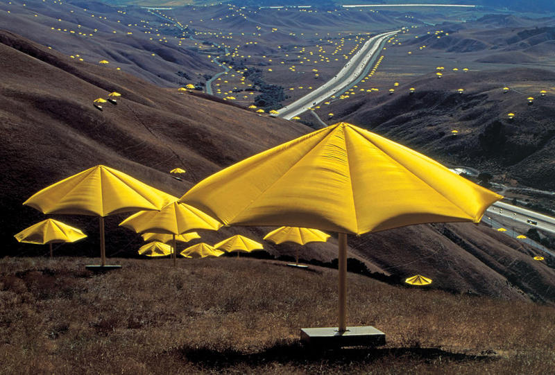 It's been 25 years since Christo's Umbrellas graced the hills of the Tejon Ranch