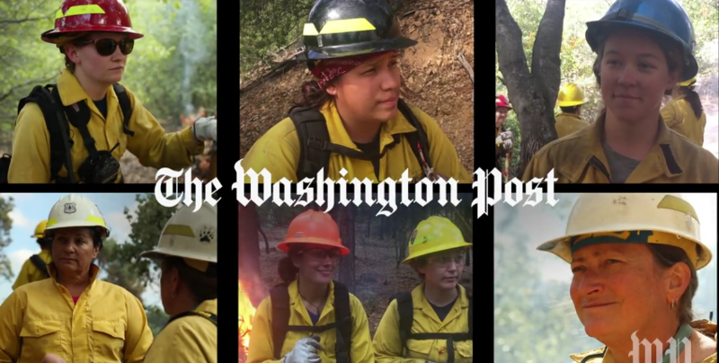 A new report in the Washington Post documents numerous claims of sexual harassment among women who fight forest fires
