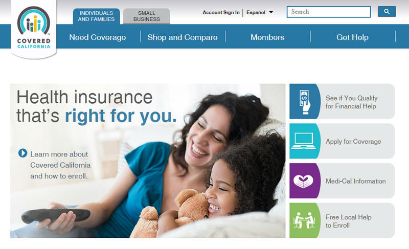 Covered California runs the state insurance exchange