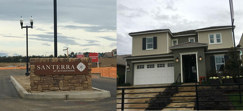 Santerra at Riverstone is one of the first of many developments in southeast of the Madera Ranchos.