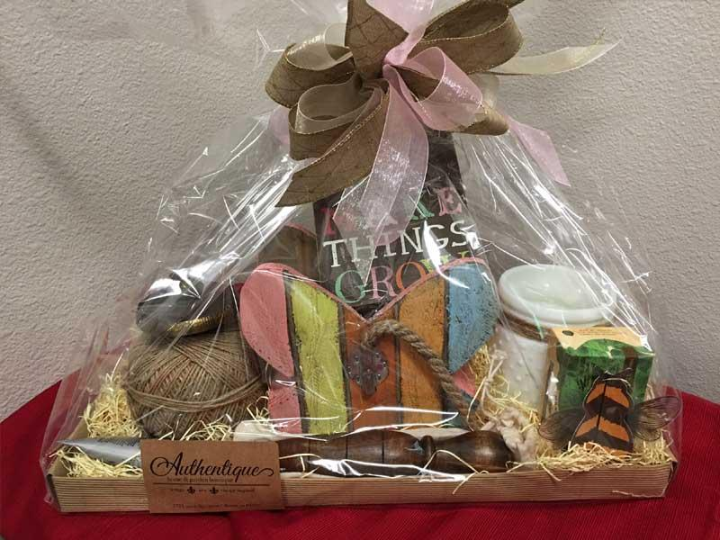 Gift Certificate and Variety Basket, courtesy of Authentique