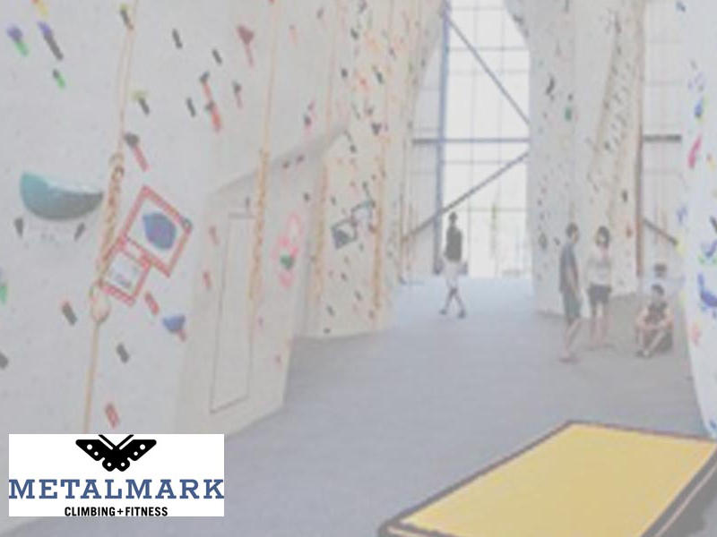 (1) free intro to climbing class for 2 people, courtesy of Metalmark