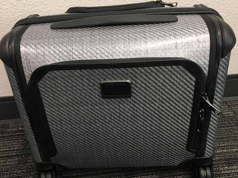 Tumi Tegra Lite Max Carry-on 4 Wheeled Briefcase, courtesy of Aporjon