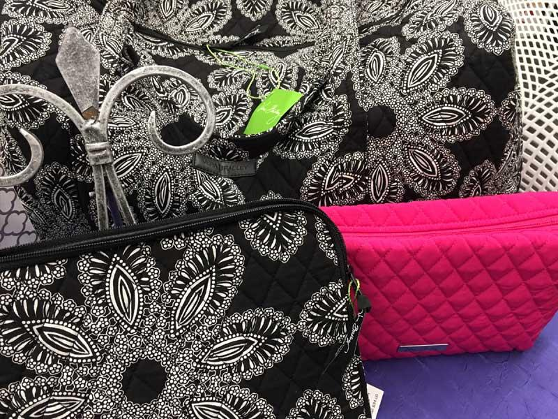 Vera Bradley travel set, courtesy of Diane Buckalew