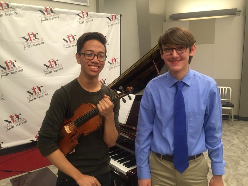 Violist Paulo Carmelo perform on Young Artist's Spotlight