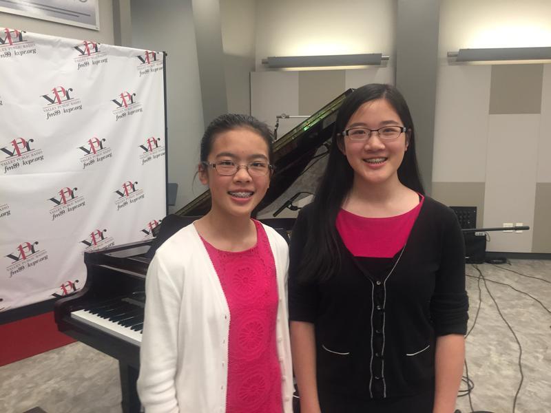 Kesley and Anna Jian
