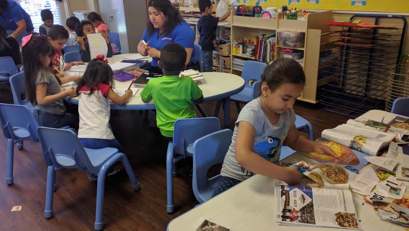 Children at Northwest Learning Center