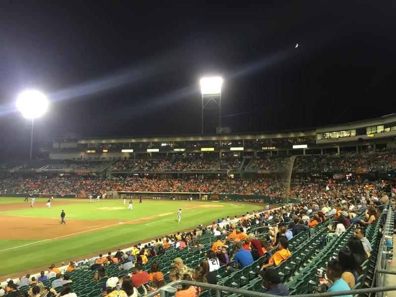 Chukchansi Park is home to the Fresno Grizzlies