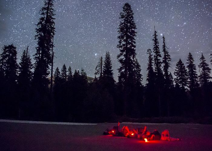 Every July Sequoia and Kings Canyon National Parks host a dark sky festival.