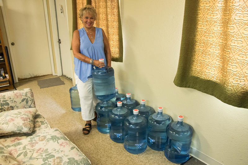 Connie Clendenan estimates Valley Teen Ranch spends roughly $400 a month on bottled water for drinking and cooking at the non-profit's three residential homes in rural Madera County.