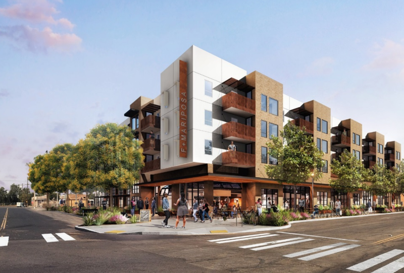 Another Fresno Housing Authority-backed project is propopsed for Chinatown, near the high-speed rail station