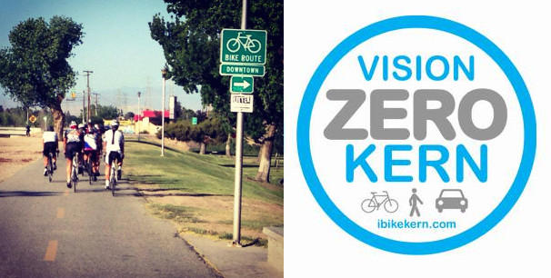 The group Vision Zero Kern hopes to reduce cyclist and pedestrian deaths in Kern County