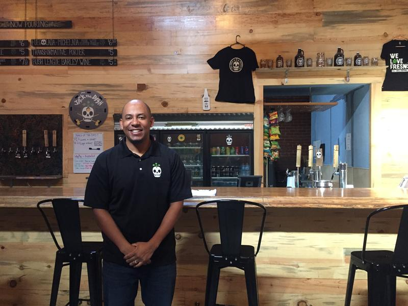 Arthur Moye is the CEO of Full Circle Brewing Co. He's only been there for a year, but is optimistic about Chinatown's future.