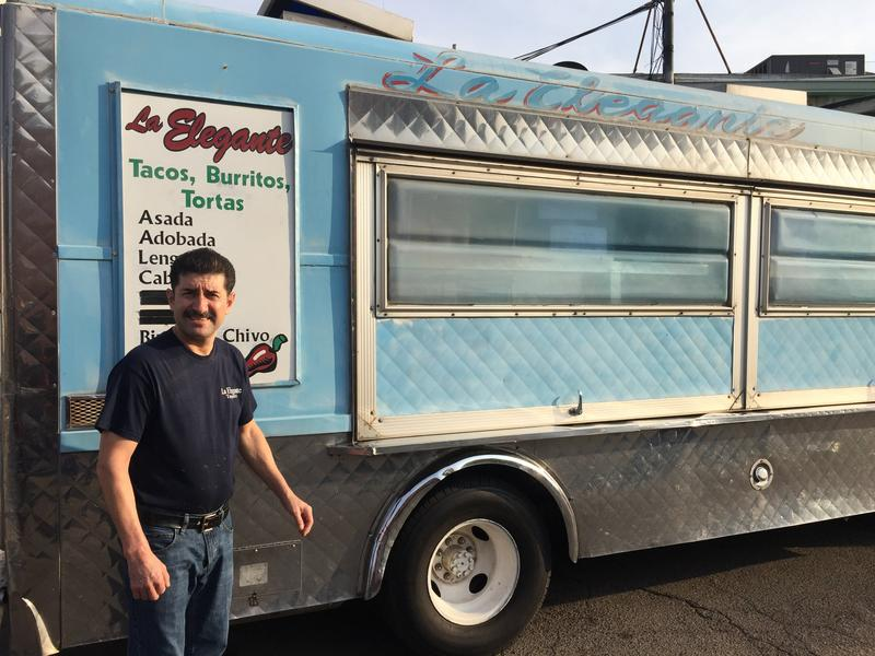 Abelardo Arenas owns La Eleganta, a popular taqueria that's been in Chinatown for almost 25 years. It all started with his dad's catering truck, which still serves up Mexican food around town.