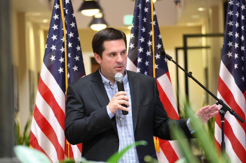 Tulare Republican Rep. Devin Nunes (file photo)