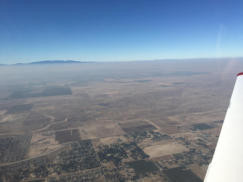 Researchers used a combination of computer models and airborne surveys to determine soil NOx emissions in California.