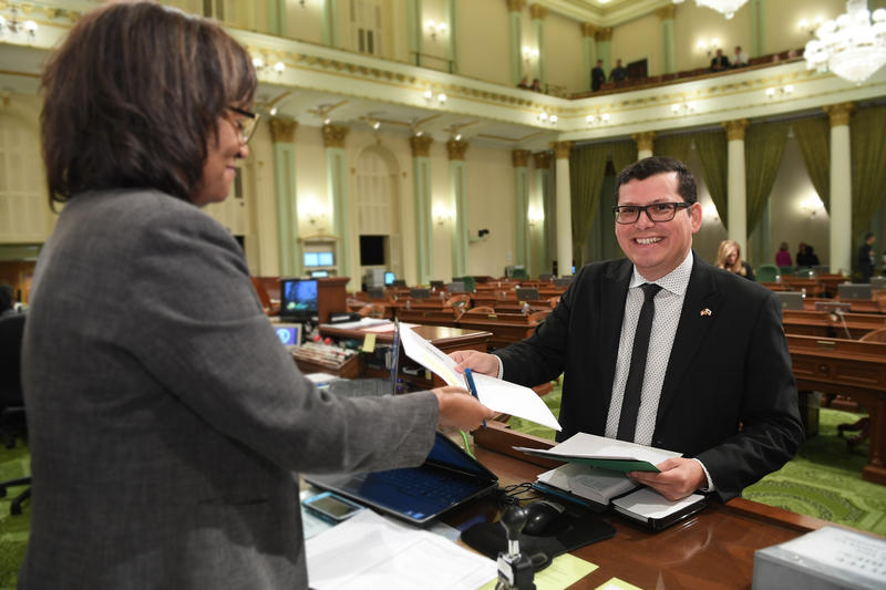 The two bills were introduced by Bakersfield assemblymember Rudy Salas.