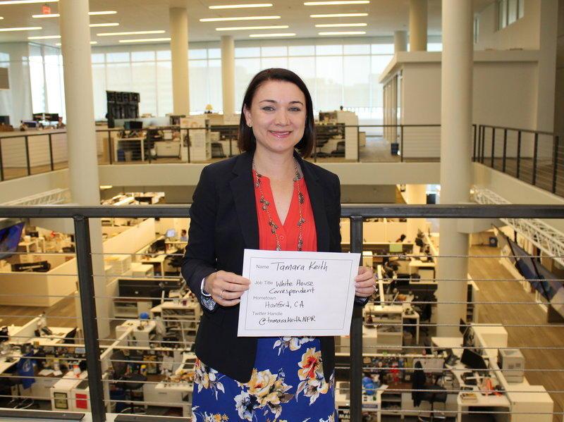 NPR White House Correspondent Tamara Keith