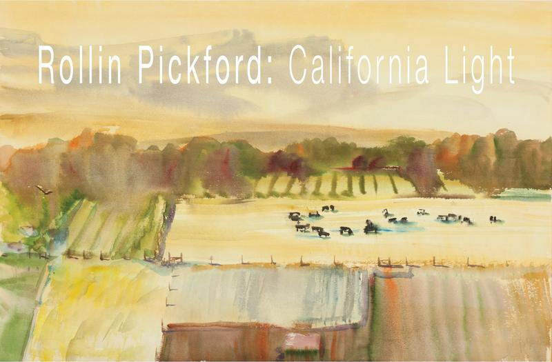 A new exhibit showcasing the work of Rollin Pickford is on display at the  Coke Hallowell Center For River Studies