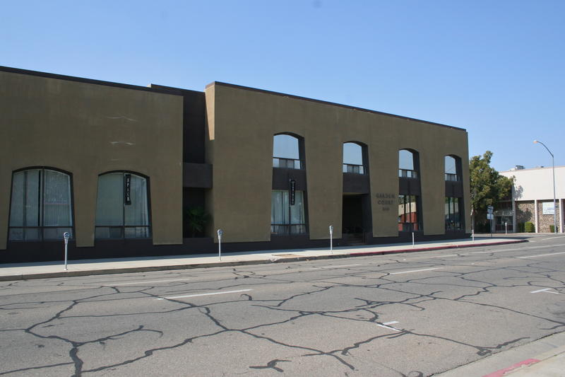 Remodeled extensively in the 1960's, this building at 2141 Tuolumne Street no longer resembles it's original design.