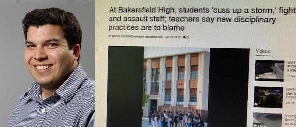 Harold Pierce of The Bakersfield Californian