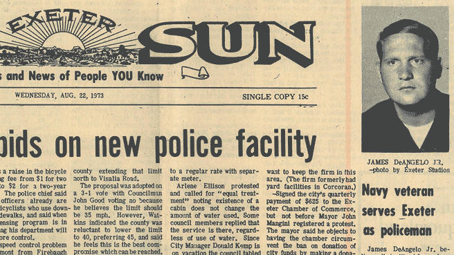 A 1973 edition of the Sun-Gazette