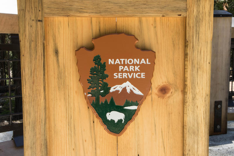 The giant sequoia was one of the few symbols chosen to be featured on the National Park Service emblem created in 1951.