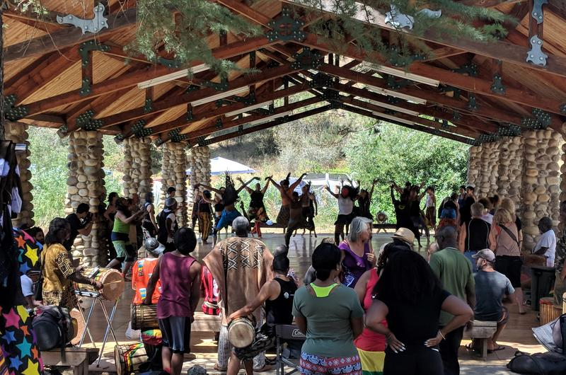 Every August, Camp Fareta calls hundreds of attendees from around the world to the Fresno County foothills to learn and perform West African dance and drum techniques.