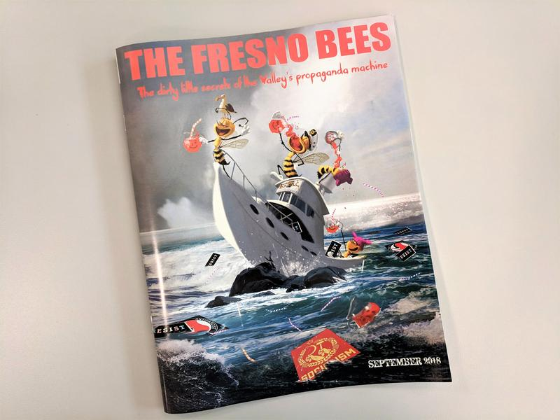 This glossy, 40-page magazine targeting the Fresno Bee by the campaign of Congressman Devin Nunes began reaching mailboxes in his district during the last week of September.