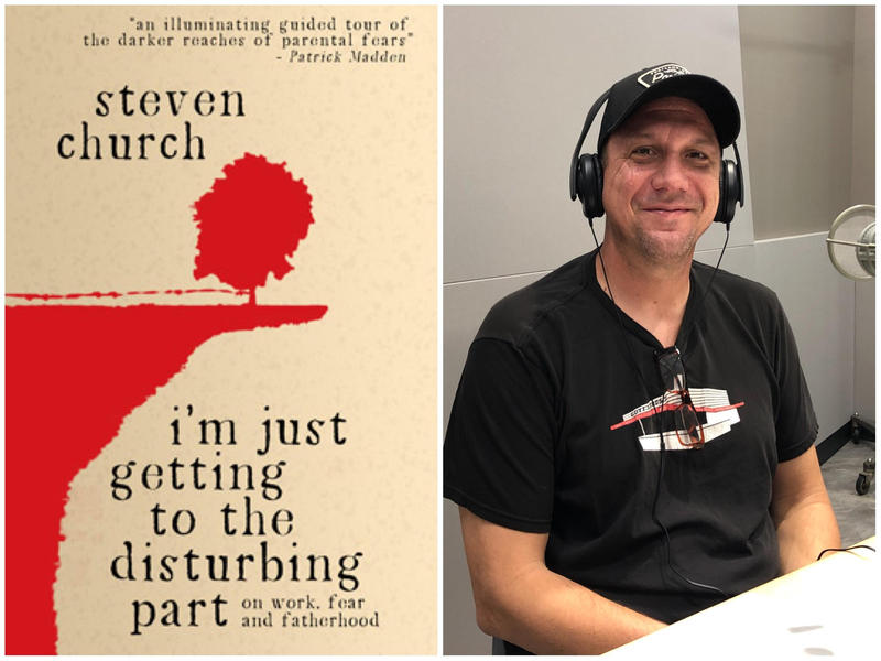 Author Steven Church spoke about his latest book, which is a collection of essays spanning Church's adult life.