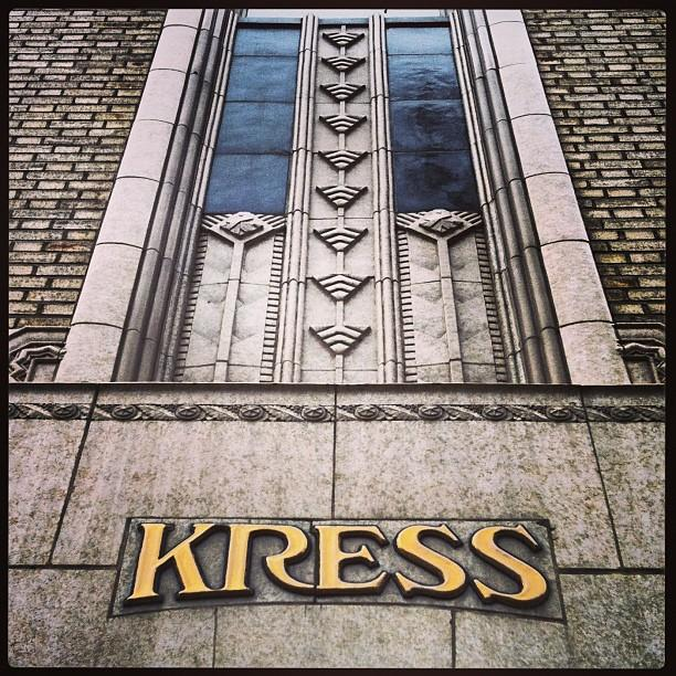 Bakersfield's Kress building is an Art Deco gem
