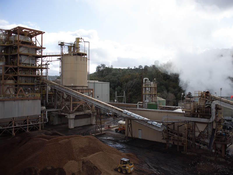 The 18 MW Buena Vista Biomass Power facility in Ione, CA turns forest debris into energy.