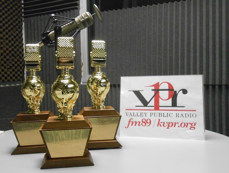 Valley Public Radio won three Golden Mike awards from the Radio Television News Association of Southern California