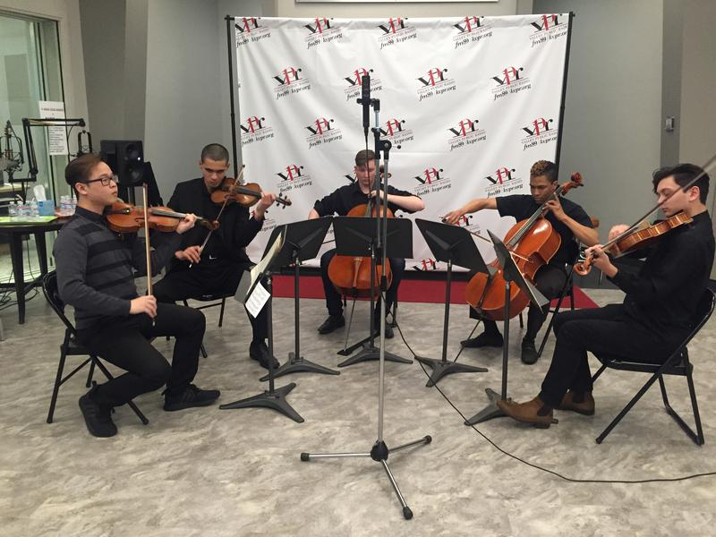 Youth Orchestras of Fresno String Quintet